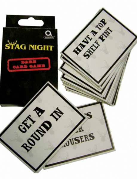 Stag Night Dare Card Game